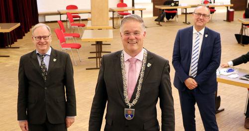 Konstituierende Sitzung Bürgermeister